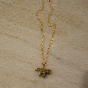 Semi -precious stone necklace